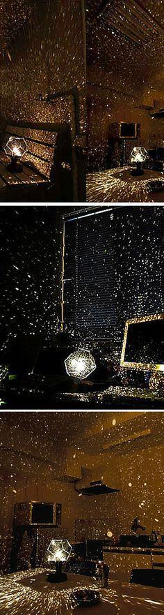 Such a romantic galaxy light!