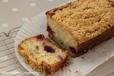 ♥ The Goddess's Kitchen ♥: Blackberry and Apple Loaf Cake