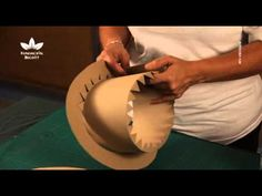 Elaboración de sombreros de cartón. Parte 2 - YouTube