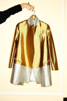 The Chic Department - the-collectors: mm ellery Gold Fashion, Holiday Fashion, Party Fashion, Metallic Fashion, Womens Fashion, Metallic Gold, Bouchra Jarrar, New Years Eve Outfits, Fashion Pictures