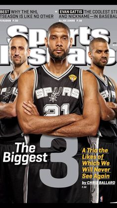 The Best Spurs Illustrated cover ever. Unless you are a dude and then it was probably that Kate Upton cover a few months ago.