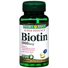 Super Potency Biotin 5000 mcg Vitamin Supplement Is Very good for Hair, Skin, And Nails