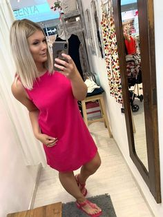 Shirt Dress, T Shirt, Magenta, Dresses, Fashion, Shirtdress, Tee, Gowns, Moda