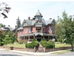 This architectural masterpiece features careful renovation of modernized kitchen and baths, while leaving unspoiled victorian charm intact.Home owners have… Victorian Style Homes, Victorian Houses, Grand Foyer, Second Empire, Old House Dreams, Find Homes For Sale, Architectural Elements, Queen Anne, Estate Homes