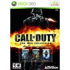 """New Call Of Duty: War Collection for Xbox 360. Brand New. Win a 24"""" LED TV go to https://www.facebook.com/events/357448944309371/ for details."""