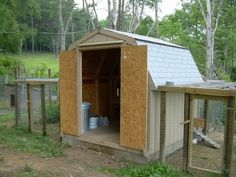 I am sacrificing half my shed out back to my chickens.... :) Have a plan i think will work well! (its insulted and has a window and in the fenced area of my backyard...PERFECT)