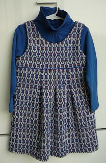Mie Flavie: Zuinig winter kleedje