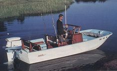 Whaler 16 Eastport c.1961 DIMENSIONS (from 1999 Catalogue)   Length......................16 feet 7 inches   Beam........................6 feet 2 inches   Draft.......................9 inches (with engine tilted clear of water)   Weight......................850 pounds (Standard) 950 (Montauk)   Maximum horsepower..........100 HP   Minimum Horsepower..........35 HP   Transom Height..............20 inches   Capacity....................7 Persons   Swamped Capacity............2,000 pounds