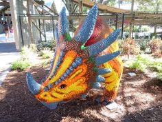 in lego land. Legos, Lego Dinosaur, Lego Coloring Pages, Big Lego, Lego Sculptures, Lego Animals, Lego Builder, Lego Craft, Cool Lego Creations