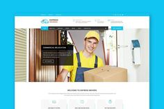 Express Movers - HTML Template. HTML/CSS Themes