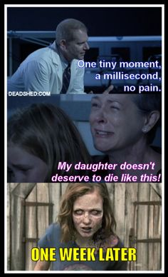Sad but true: TWD My daughter don't deserve to die like this... Jenner, Carol, Sophia