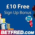 10 pounds free to Play Betfred casino