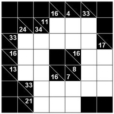 Number Logic Puzzles: 22424 - Kakuro size 1