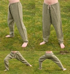 Yea! Viking Linen pant that don't rip!