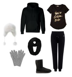 """Harley winter"" by ana-vivier ❤ liked on Polyvore featuring McQ by Alexander McQueen, Hollister Co., UGG and L.K.Bennett"