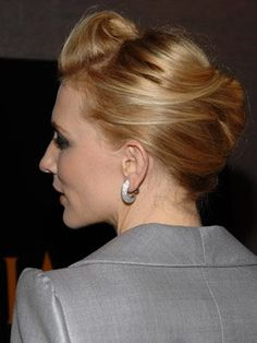 Cate Blanchett's alluring hairstyle