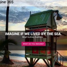Imagine365 website of daily inspiration.