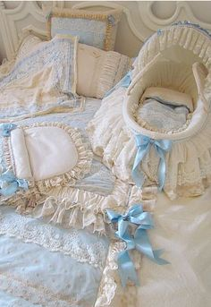 Bassinet And Baby Linens