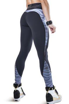 Labellamafia Zebra Screen Legging