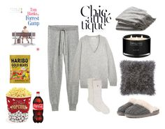 """""""SILENCE YOUR CELL PHONE"""" by wendy-tankson ❤ liked on Polyvore featuring T By Alexander Wang, UGG, Crate and Barrel, West Bend and The White Company"""