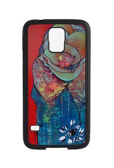 Samsung Galaxy S5 S4 S3 Phone Case Sitting on the by MerandaTurbak