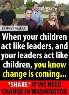 So very proud of Parkland students show America the way to do it.