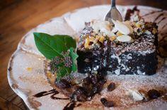 Ciasto piernikowe. Dojrzewa zimą w Małej.  #werandacaffe #smakzimy