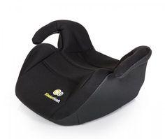 KinderKraft Fotelik samochodowy - podstawka Smart Booster Black | MALL.PL