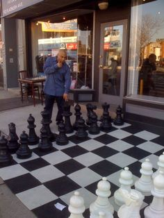 Chess, a Man's favorite game...