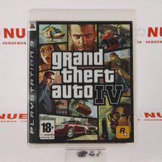 #Videojuego GTA IV para PS3 E269512 de segunda mano | Tienda de Segunda Mano en Barcelona Re-Nuevo#segunda mano#