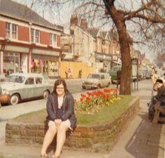 1968 Top end of Flixton Road in Urmston when work had just begun on creating the Urmston Precinct