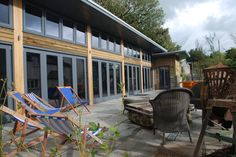 RIBA members, Trewin Design Architects have over 40 years experience of delivering award winning, innovative architecture in Devon and across the southwest Innovative Architecture, Timber Cladding, Building A Pool, Indoor Swimming Pools, Water Treatment, Water Plants, Architect Design, Cornwall, Patio