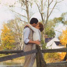 Embedded image Romantic Scenes, Most Romantic, Jonathan Crombie, Megan Follows, Good Morning Vietnam, Gilbert And Anne, Gilbert Blythe, Anne Shirley, Perfect Boyfriend