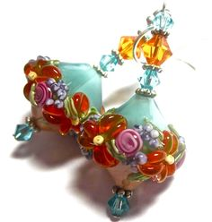 Hey, I found this really awesome Etsy listing at http://www.etsy.com/listing/151652286/lampwork-earrings-handmade-lampwork