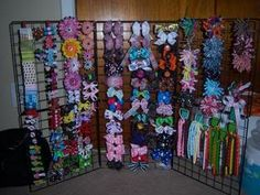 Display Hair Bow Holder | For those who use wire display - Hip Girl Boutique Free Hair Bow ...