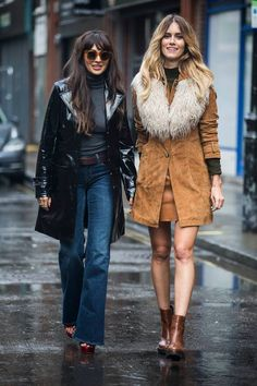 Day 1 of LFW - Our Fashion Insiders Zara Martin and Whinnie WIlliams look ever so stylish in head-to-toe New Look. #NewLookStyle #LFW #streetstyle