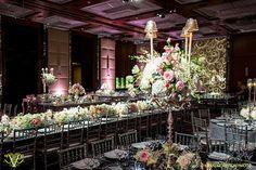 Victoria Clausen, Floral and Event Design, Baltimore/Washington DC. Wedding reception flowers, centerpieces.