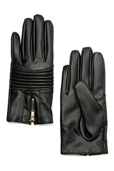 You already look like a badass, but these faux leather gloves are about to take you to ride or die status.