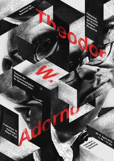 Theodor W. Adorno. Folkwang, University of Arts, by Andreas Golde, Germany Winner: Silver Medal (Category A) poster no: 73