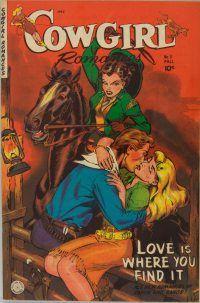 Casablanca Authors: Kim Redford Discovers Ranch & Range Romance Comics...