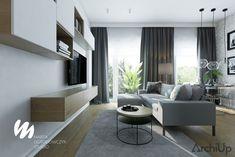 Przestronne mieszkanie z wysokimi oknami    - ArchiUp.com - Prawdziwa strona architektury