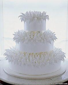Meringue Wedding Cakes| Martha Stewart Weddings
