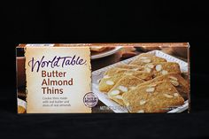 Fifty2 - The My Private Brand Project - Walmart - World Table -  Butter Almond Thins