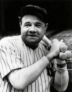 On September 30, 1927, Babe Ruth of the New York Yankees hit his 60th home run of the season to break his own major league record.