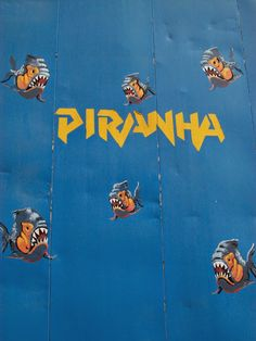 POP ART, KITSCH & CURIOSITIES: Pirañas