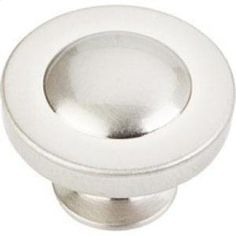 "Z111SN in Satin Nickel by Hardware Resources in Chicago, IL - 1-1/4"" Diameter Cabinet Knob. Packaged with one 8-32 x 1"" screw. Finish: Satin Nickel"