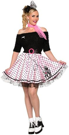 Forum Novelties Womens 50s Mid Length Poodle Skirt A Special Product Just