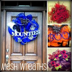 Mesh Wreath How to!
