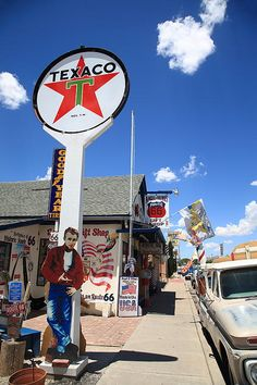 "Route 66 - Seligman, Arizona. ""The Fine Art Photography of Frank Romeo."""