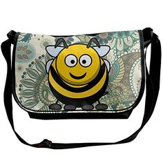 Memoy Fat Bee Men Women Shoulder Bag Eco-Friendly Messenger Bag -- Be sure to check out this awesome product.